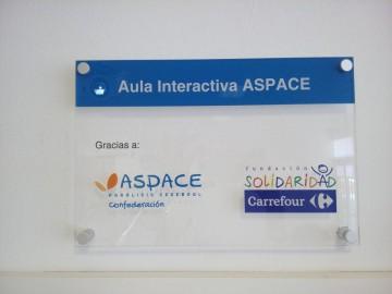 Pizarra interactiva en ASPROPACE Castellón