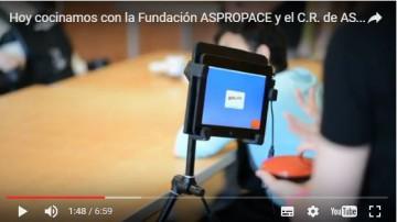 Hoy cocinamos con Fundación ASPROPACE y ASPACE Asturias
