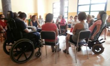 Inicios del grupo de autogestores de la Fundación ASPROPACE
