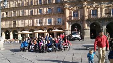 Comienzan nuestras vacaciones. Nos vamos a Salamanca.