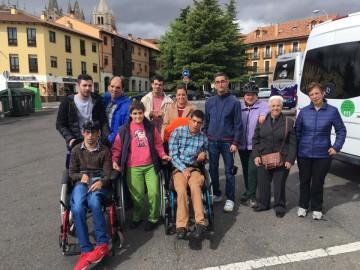 Visita de compañeros de salamanca a León