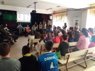 Visitamos el colegio Carmen Conde