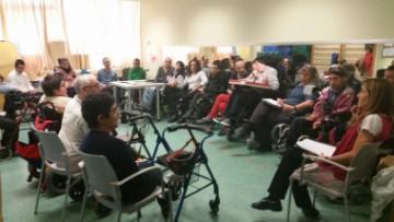 Mi primera reunión de ciudadanía activa: ASPACE Bizkaia