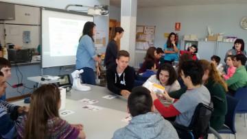Hacemos nuevos amigos en ASPACE Huesca