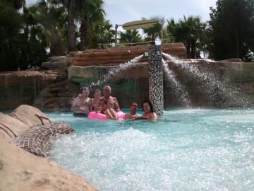 Experiencia en el parque acuático de La Pineda, Vila- seca (Tarragona)