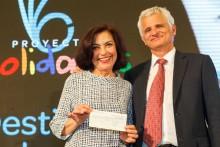 ASPACE Sevilla recibe 30.000 euros de Fundación Solidaridad Carrefour para implantar terapia Vibra