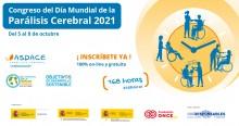 Vida independiente, corresponsabilidad en los cuidados, transformación de los servicios ASPACE y parejas complementarias serán los seminarios del Congreso del Día Mundial de la Parálisis Cerebral 2021