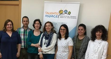 Identificar buenas prácticas en entidades ASPACE apuesta común de trabajo en los grupos de Talento ASPACE en este curso