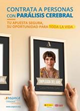 Desde Confederación ASPACE hacemos un llamamiento a las empresas españolas para que contraten a personas con parálisis cerebral