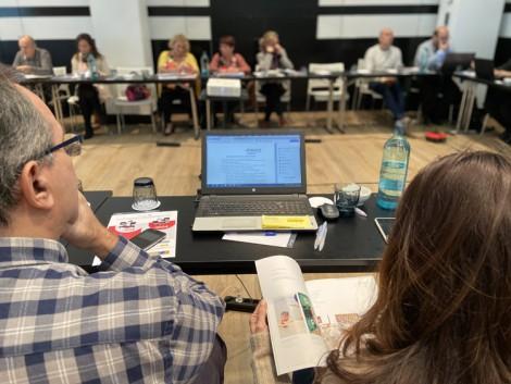 El Consejo Territorial ASPACE analiza el impacto del XV Convenio Colectivo y del nuevo concierto social en las entidades de parálisis cerebral