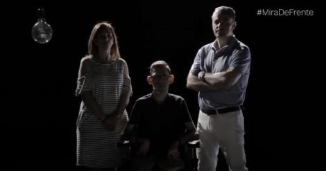 """Lanzamos """"No mires a otro lado"""" la campaña reivindicativa del Movimiento ASPACE sobre la afectividad y sexualidad en parálisis cerebral"""